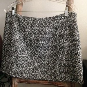 Anthropologie Maude Woven Mini Skirt L